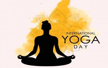 celebration of International Yoga day, 2020