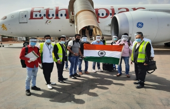 Movement of Indian Nationals stranded in Burkina Faso travel back to India (Chartered Flight)