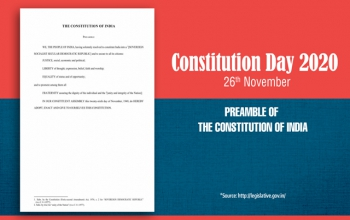 71st Constitution Day - Videos to mark the Constitution Day